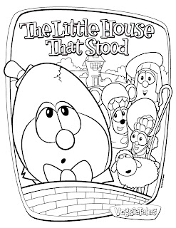 We Love To Homeschool: VeggieTales: The Little House that