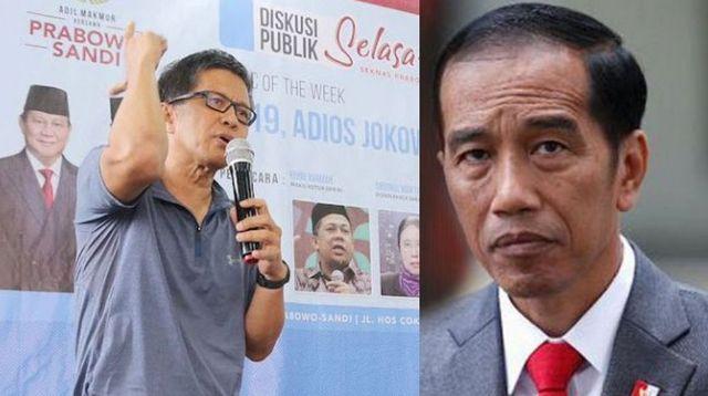 """Mampukah Jokowi Ungguli Jualan Jargon """"Akal Sehat"""" Rocky Gerung?"""