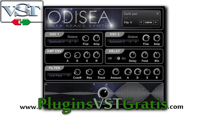 DSK Odisea - Plugin VST Grátis de Sintetizador