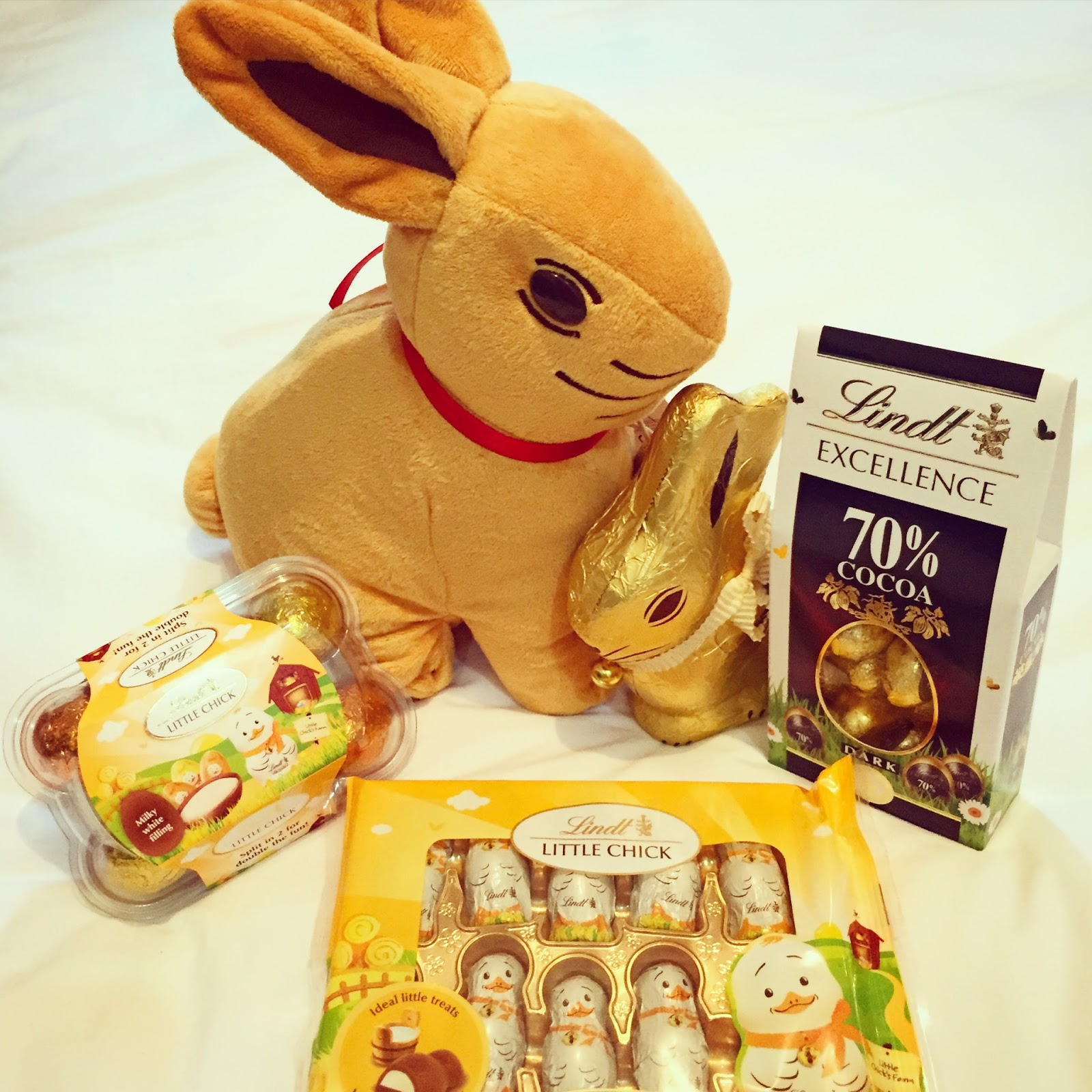 Mummys Space Lindt Gold Bunny Easter Hunt Chocolate Magic