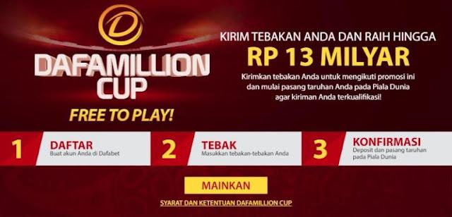 Piala Dafa GRATIS Untuk Bermain Di Dafabet Indonesia