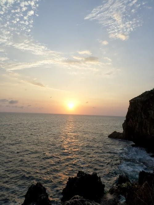 Sunset di Pantai Gesing