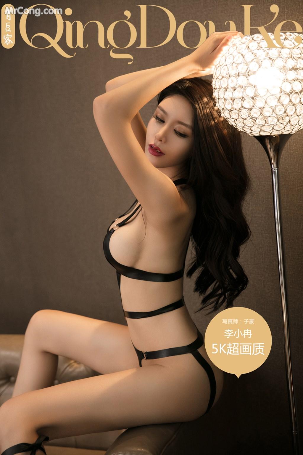 QingDouKe 2017-10-31: Người mẫu Li Xiao Ran (李小冉) (51 ảnh)