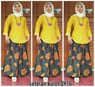 desain baju setelan batik