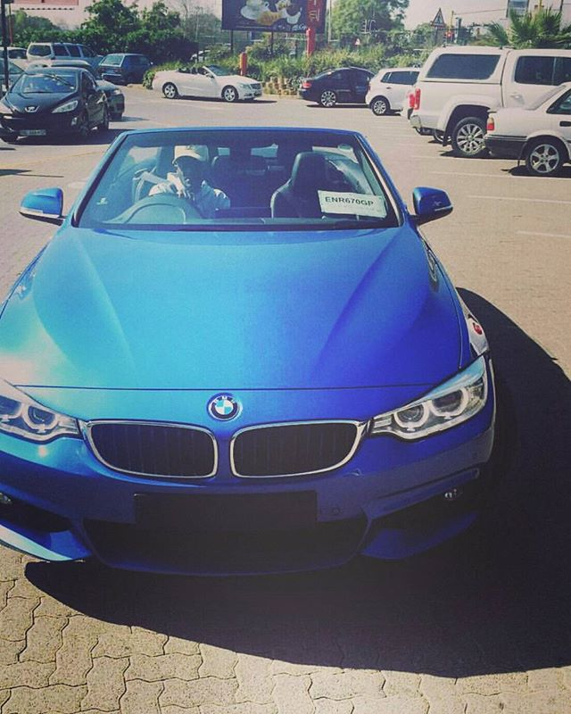 Kwesta S Bmw 4 Series Convertible Mzansi Celebrity Cars