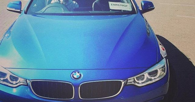 Kwestas BMW 4 Series Convertible Mzansi Celebrity Cars