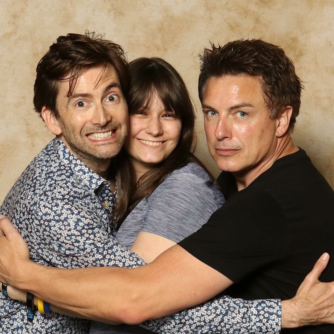 On Saturday 17th And Sunday 18th June 2017 David Tennant John Barrowman Catherine Tate Attend The Awesome Con Fan Convention In Washington DC