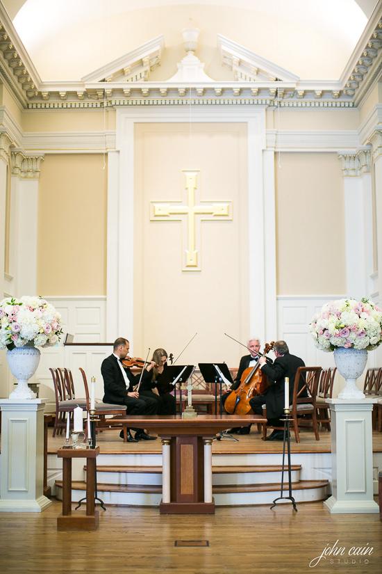 Gyros String Quartet at Perkins Chapel