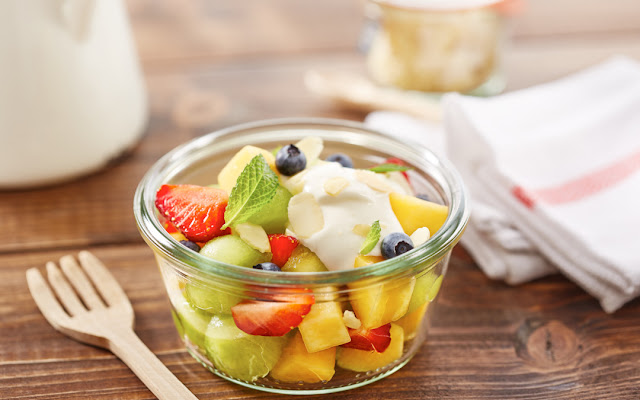 Easy Creamy Fruits Salad Recipes