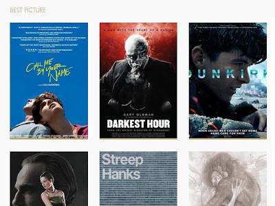 Listo ya tenemos reseña de las 9 nominadas al Oscar de este año