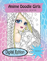 Anime Doodle Girls volume 2 digital PDF book
