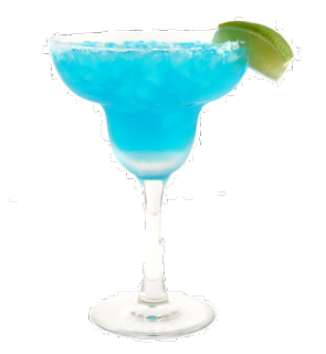 Blue tequila