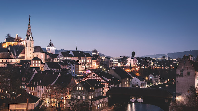 Old Town. City Lights