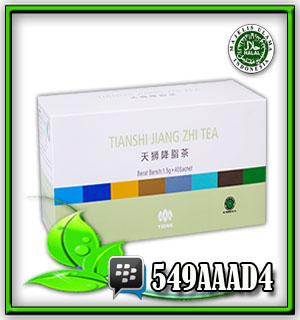 jiang zhi tea, teh tianshi, teh tiens, membuang kolesterol, herbal pelangsing badan, herbal asam urat