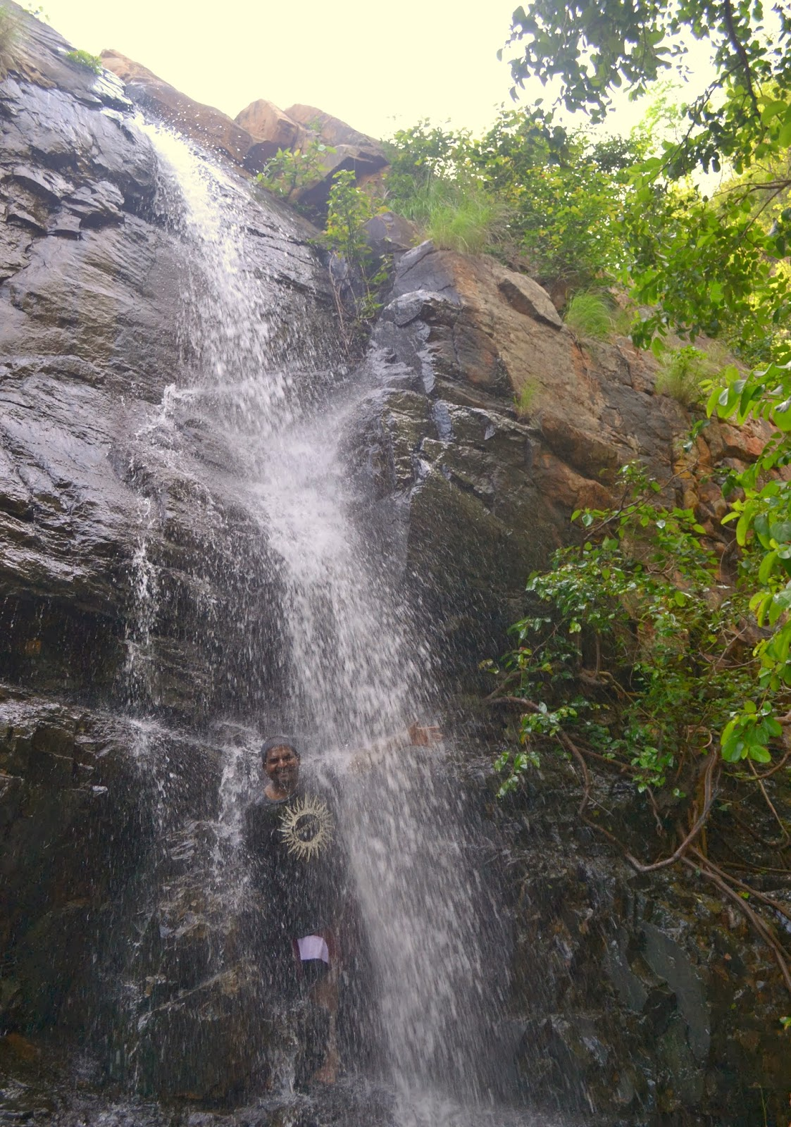 Waterfall at Prahladuni badi