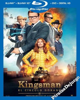 Kingsman: El círculo dorado (2017) HD 1080p Latino