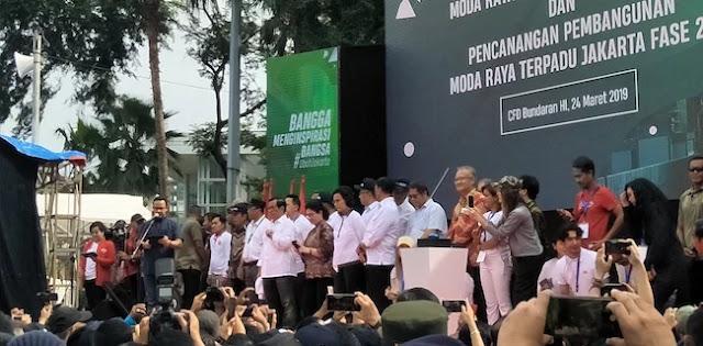 MRT Resmi Dibuka, Anies Ucapkan Terima Kasih Ke Sutiyoso Hingga Djarot