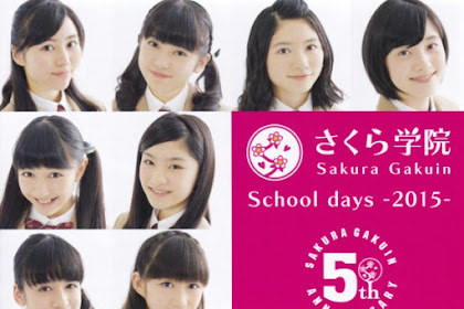 [PV SUB] Sakura Gakuin - School Days 2015 (Sub Indo)