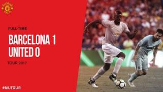 Barcelona vs Manchester United 1-0 ICC 2017