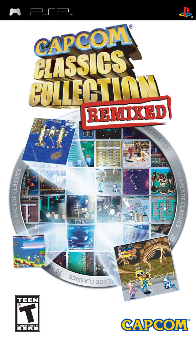 Capcom Classics Collection Remixed - PSP - ISO Download