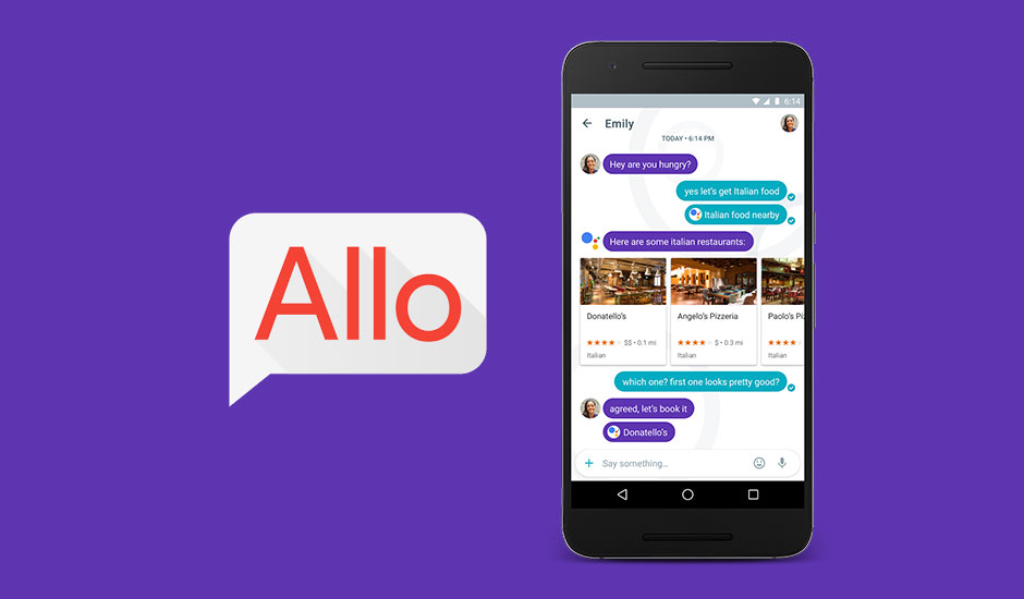 Google sfida Whatsapp con il messenger intelligente Allo