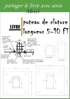poteau de cloture longueur 5-10 FT pdf