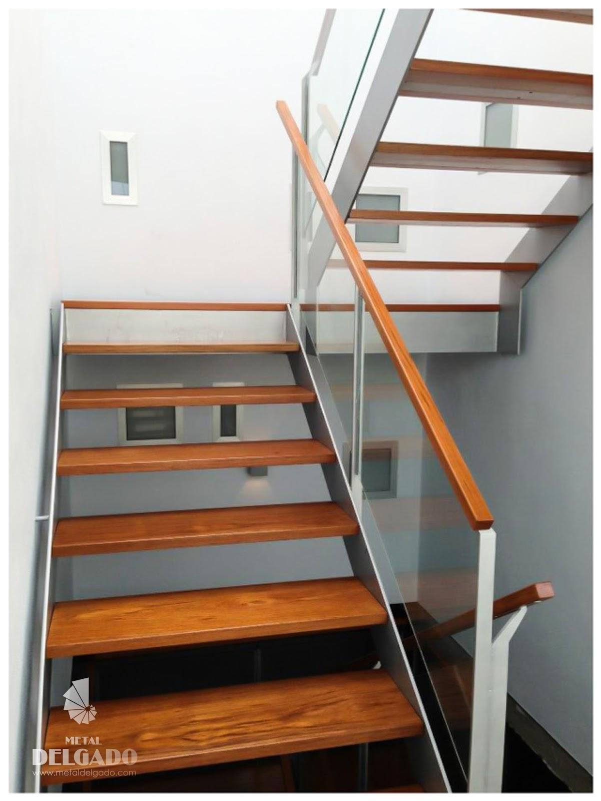 Acero inoxidable tenerife escaleras met licas tenerife - Disenos de escaleras de madera para interiores ...