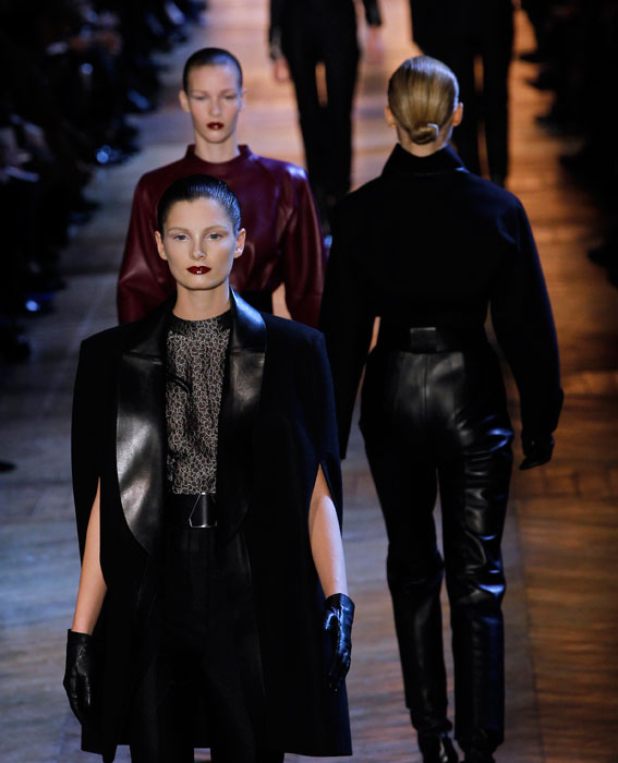YSL F/W 2012-2013: DARK MOOD and STRONG WOMAN