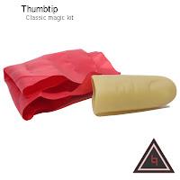 Alat sulap Thumbtip , alat sulap jempol palsu