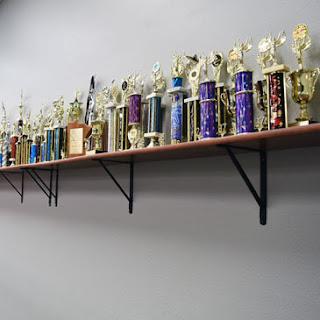 St Cloud School of Dance trophies photo by Greatmats
