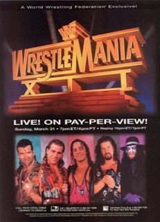 WWE / WWF - WRESTLEMANIA 12 - Event Poster