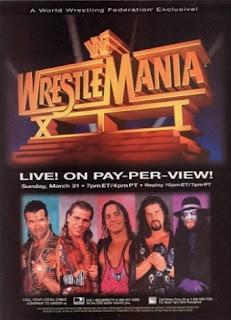 WWE / WWF - WRESTLEMANIA 12 - Event Poster