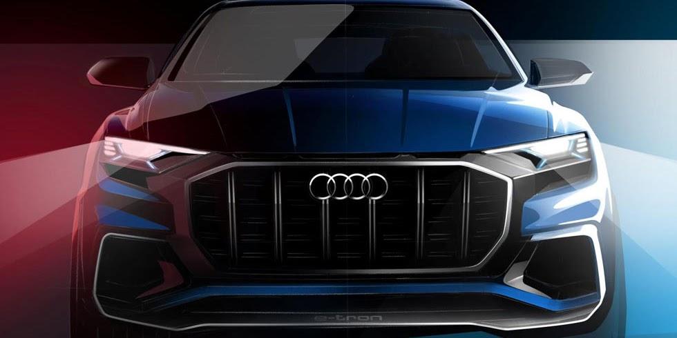 This Is Audi's Detroit Auto Show Q8 Flagship SUV Concept