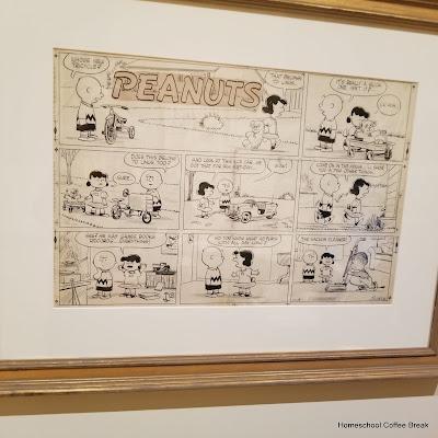 Cartoon Museum Art Field Trip on the Virtual Refrigerator  - share your art posts on our Virtual Refrigerator - an art link-up hosted by Homeschool Coffee Break @ kympossibleblog.blogspot.com