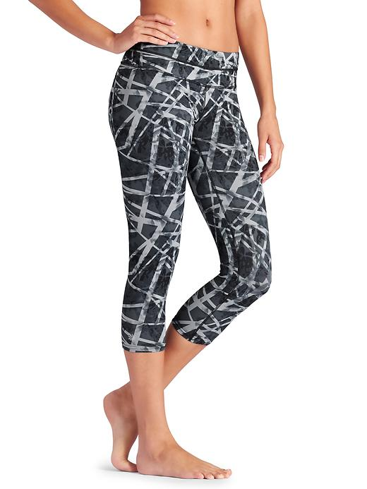 athleta sonar crop floral geo