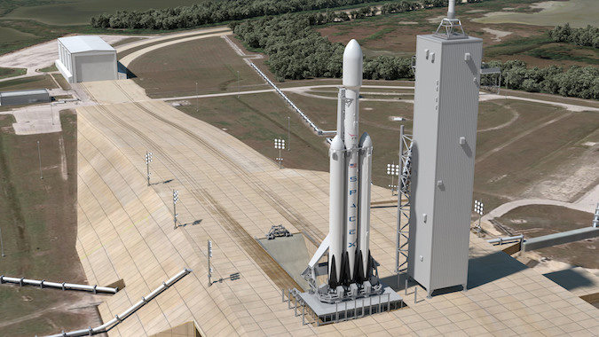 SpaceX To Launch 'Silliest' Thing On Falcon Heavy