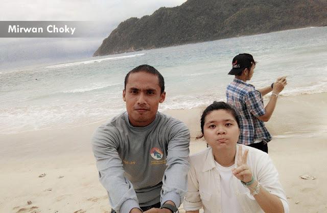 Jadi Tour Guide orang Thailand di Pantai Lampuuk
