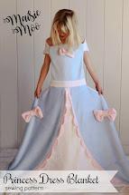 Princess Dress Blanket Pattern