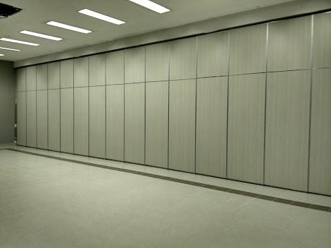 Partisi Lipat Geser Movable Wall berbagai instalasi