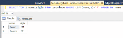 Come fare una query in SQL