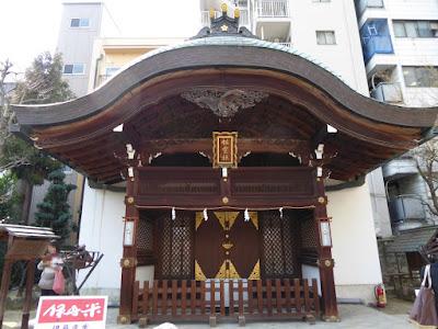 大阪天満宮 星合池 祖霊社
