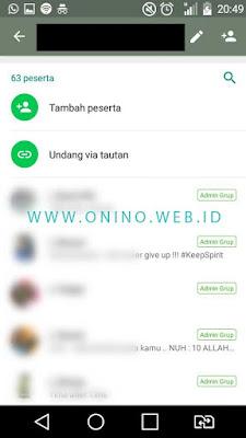 cara mudah membuat link grup Whatsapp