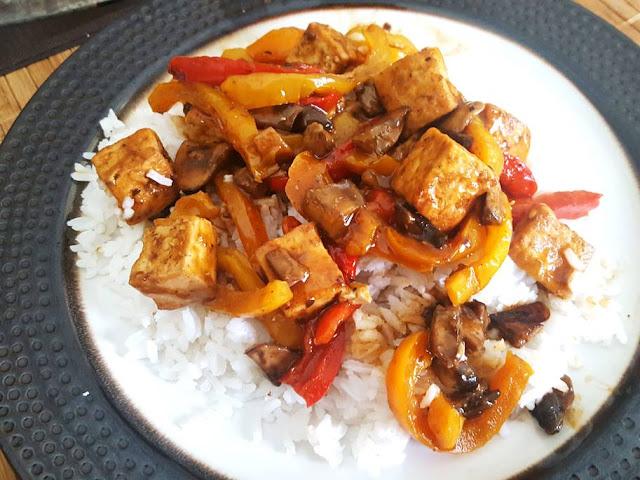 Kung Pao Tofu Stir Fry