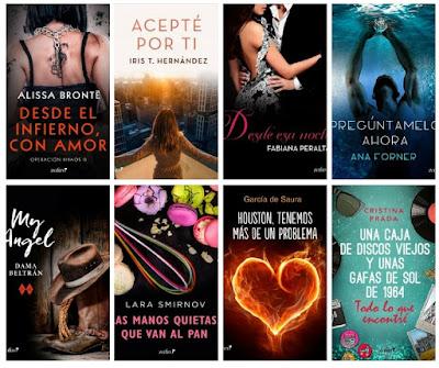 catálogo Zafiro 2018_sellos editoriales de novela romántica