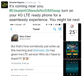 Etisalat 4G LTE network