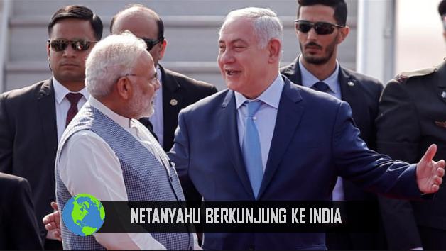 Netanyahu kunjungi India