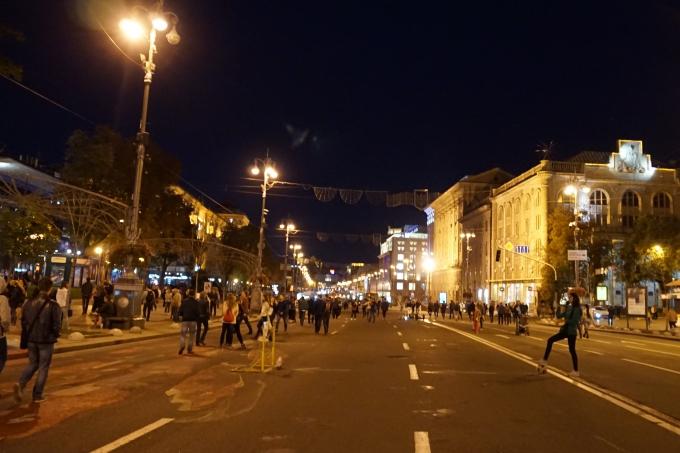 Kokemuksia Kiovasta - mitä tehdä ja minne mennä? Kiovan pääkatu
