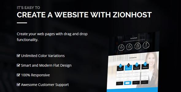 ZionHost v3.3 – Web Hosting, WHMCS and Corporate Business WordPress ...