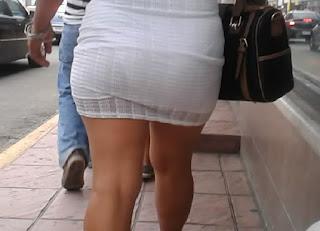 Video voyeur señora vestido transparente