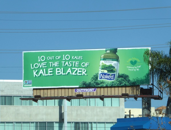 10 out of 10 Kale Blazer Naked billboard